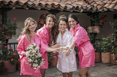8 cosas que tus damas de honor deberían saber cuando las escoges