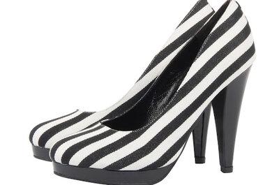 Bianco & Nero...il mix perfetto per scarpe very chic!
