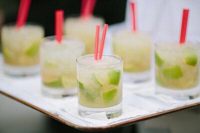 Cocktail hour! Coloridos e saborosos: os 10 cocktails que vão dar cor à sua festa.