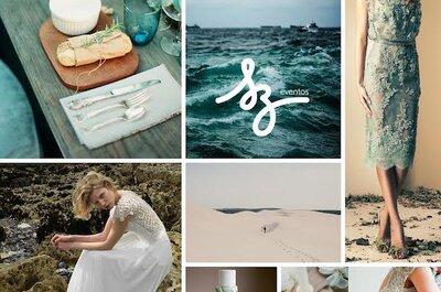 Tu boda en armonía con el océano: La más linda inspiración para decorar tu día bajo del mar