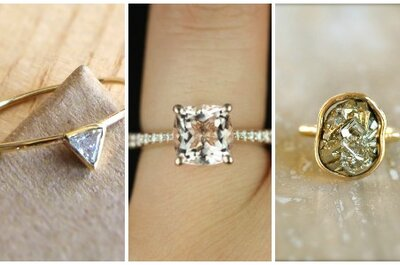 8 Unique Engagement Ring Ideas from Etsy
