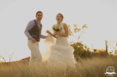 Destinados a estar juntos: La boda de Sandra y Juan Felipe