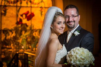 Casamento de Maria Clara & Flavio: luxo e tradição num palácio impressionante do Rio de Janeiro!