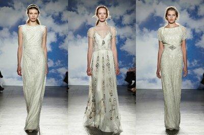 Jenny Packham 2015 - New York Bridal Week: vestidos para novias con todo tipo de siluetas