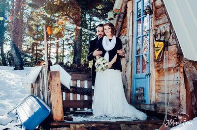 Mariage à la montagne en hiver : nos meilleurs prestataires