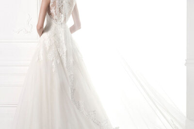 Accessories by Pronovias 2015: Jackets & vintage veils
