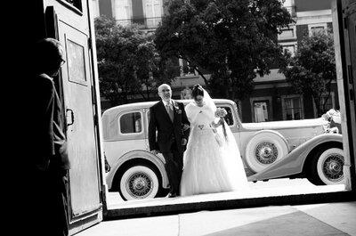 Lá vem a noiva: o impacto da primeira imagem