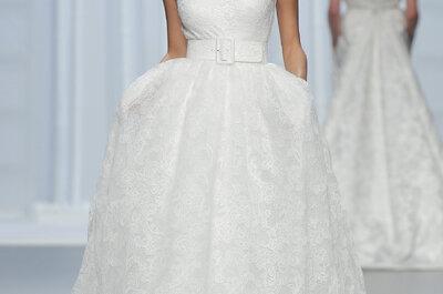 50 vestidos de noiva com corte princesa 2016: romantismo máximo!