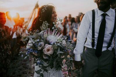 Y cuando te busco, no hay sitio en donde no estés: La boda de Dafne y Julio
