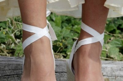 Calzado muy femenino para todo tipo de novias
