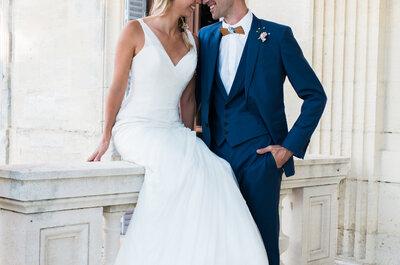 Aurélie et Thibaud : une demande aux Maldives, un mariage DIY et une belle cérémonie laïque !
