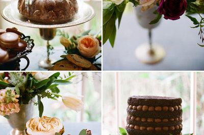 Dulces y tortas, también son parte de la ambientación de tu boda