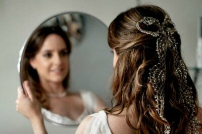 Descubra qual o penteado perfeito para uma noiva despojada e chic