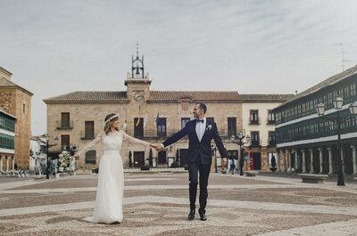 Andábamos sin buscarnos, pero sabiendo que andábamos para encontrarnos: la boda de Cristina e Iván