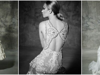 YolanCris 10 Year Anniversary Spring 2016 Bridal Collection: Orchid Couture