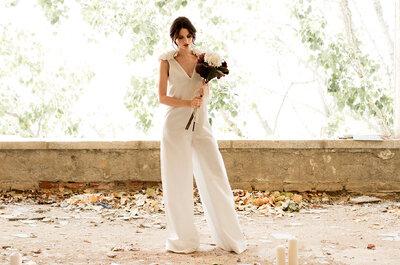 Elegante, juvenil y con un toque de lo más original, así son los diseños de Demi Novias