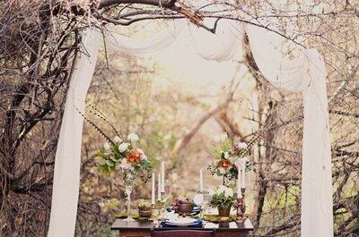 Idee per un matrimonio originale: perditi nel bosco!