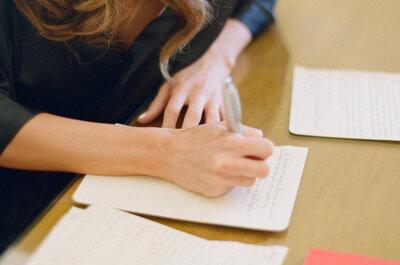 12 listas que toda novia debe hacer cuando organiza su matrimonio. ¡Descúbrelas!