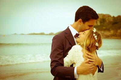 Le mariage bohème avec vue sur mer de Marion et Erwan