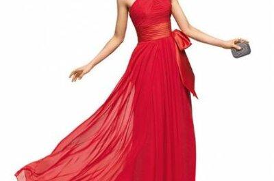 3 vestidos de fiesta rojos para invitadas