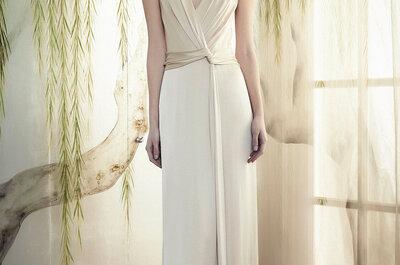 Jenny Packham Pre Fall 2015: Vestidos de novia vanguardistas, con cientos de brillos y elegancia... Los amarás