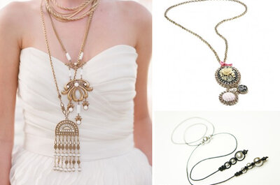 Pięć pomysłów na ślubną biżuterię, które Cię zaskoczą