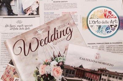 Unico Wedding, la rivista di matrimonio che mancava