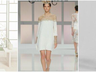 Vestidos de novia para boda civil 2017: Los 40 diseños must para ti