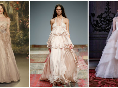 The Blushing Bride in 2016: Pink Wedding Dress Alternatives