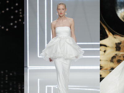 Los 5 detalles que marcarán tendencia en los vestidos de novia 2017