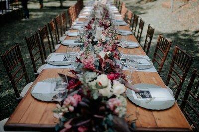 Tendências de decoração das mesas do casamento para 2017:as ideias mais lindas!