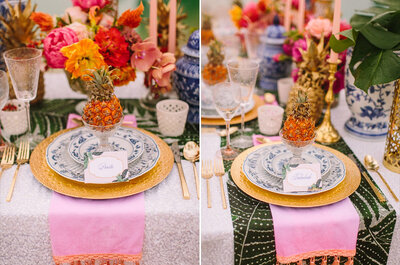 """Inspire-se em uma decoração """"estilo Caribe"""" para seu casamento na praia"""