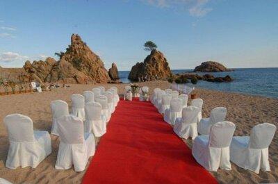 Casate en España al lado del mar: lugares de la Costa Brava
