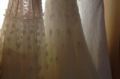 Vestidos de noiva leves e perfeitos para casamentos no verão