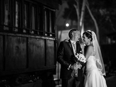 El film de la boda de Erika y Eduardo: un poema a duotono