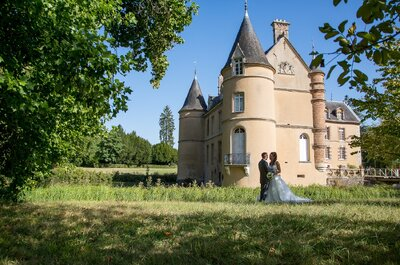 Le mariage d'Elodie et Mathieu en Seine-et-Marne, organisé en seulement 6 mois !