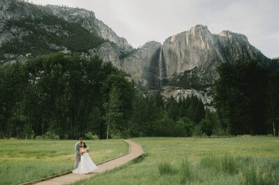 Natural Wonderment: Layla + Daniel´s Wedding Photos in California