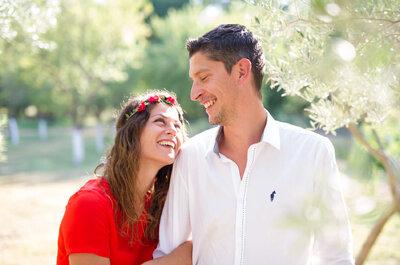 Cigales et soleil : Le mariage de Sophie et Bertrand en Provence