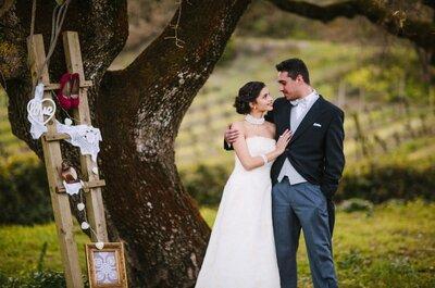 Emoldure o seu casamento: um toque vintage e súper romântico!