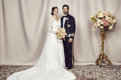 Novias que son princesas: Todos los secretos del look de novia real de Sofía Hellqvist