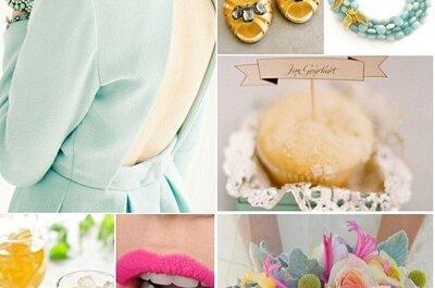 DIY: Diseñamos una paleta de colores de verano para tu boda