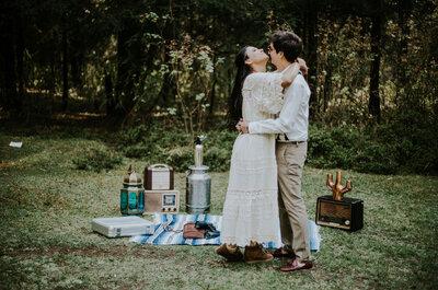 Tú eres mi más grande sorpresa... La más hermosa: Buka y Melo, una sesión casual
