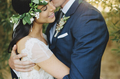 Discover the secrets of this bride with an elegant, Mediterranean style wedding
