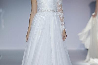 Brautmoden-Kollektion 2014 von Franc Sarabia