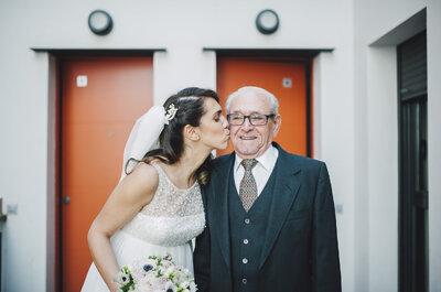 Dale protagonismo a tus abuelitos en tu matrimonio: 6 emotivas razones que te convencerán