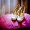 Zapato cerrado con punta redonda. Foto: Silvia Calvo.