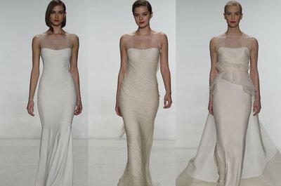 Los vestidos de novia destacados de las colecciones para la primavera 2015