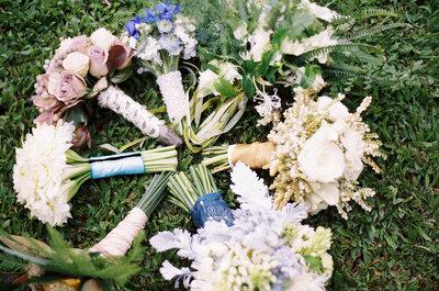 La naturaleza como aliada de tu estilo: Conoce los ramos de novia más chic