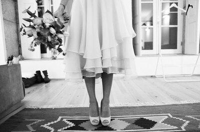 Vestidos de noiva curtos 2016: uma tendência que vai adorar!