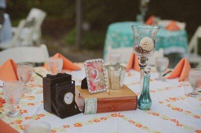 Añade un toque color mandarina a tu boda